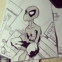 Rare Spidey by kaicastle
