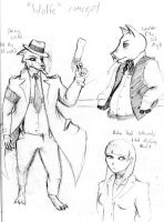 ''Wolfe'' concept by UNlucky0013