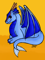 Chibi Sephiriel Colour shaded by inkblot-wolf
