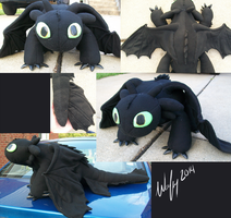 Toothless the Night Fury by wolfytg