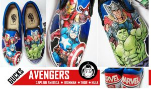 The Avengers by gucksshoes