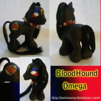 Bloodhound Omega Pony by AnimeAmy