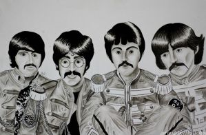 Sgt. Pepper's Lonely Hearts Club Band! by EbbaOzolins