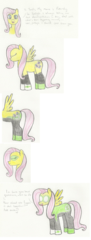 Ask Green Lantern Fluttershy 1 by The-rogue-shadow