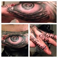 Hand tattoo by zok4life