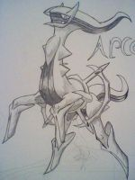 Mystri stages arceus by Dragontamer333