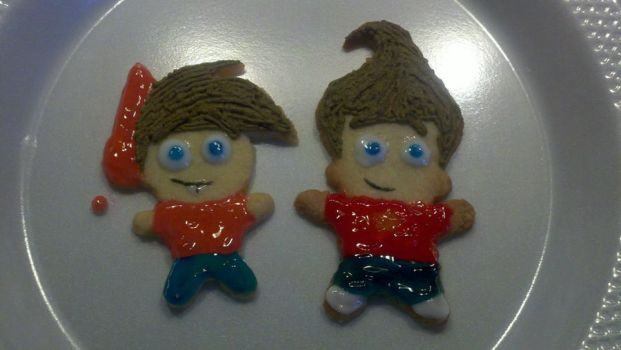 Jimmy Timmy Cookies by Nicktoonacle