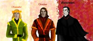 September, October, November by Lucius007