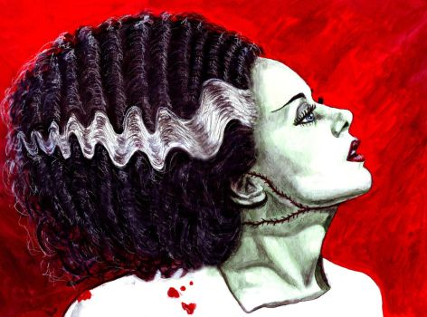 Bride of Frankenstein by amybalot
