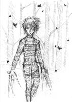 Edward Scissorhands by pikku-diana