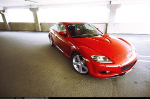 Mazda RX8 - garage side front- by dejz0r