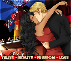 .:APH:. Moulin Rouge by kamillyanna