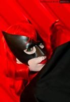 Batwoman cosplay mask by Alyssa-Ravenwood