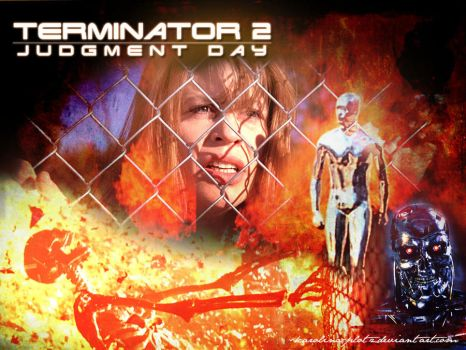 Terminator 2: Judgment Day (1991) by Karolina-Plotz