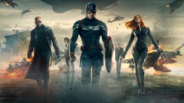 Captain America The Winter Soldier by vgwallpapers