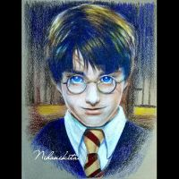 Daniel Radcliffe as Harry Potter by Nihonikitai