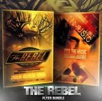 PSD The Rebel Flyer Bundle - 2in1 by retinathemes