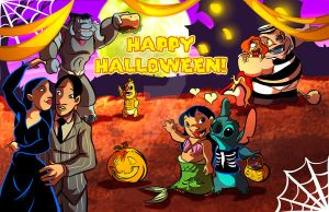 Lilo and Stitch Halloween by DustinEvans