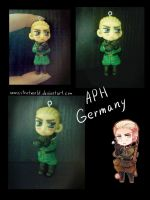 Clay Germany doll by NonexistentWorld