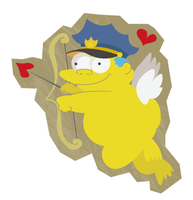 Chief Wiggum by GAMUwoKAMEKAME