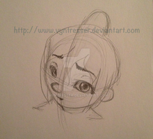 Vanellope Blush Animation by Vyntresser