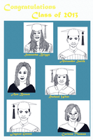 Congrats Class of 2013 :The Make Ugly Contest by Mega-multi1