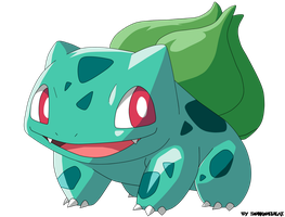 BULBASAUR by Krizeii