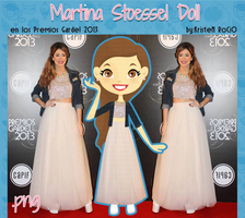 Martina Stoessel Doll (Premios Gardel 2013) by RoohEditions