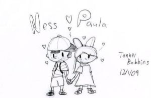 Ness x Paula by Nintendo-Fighter