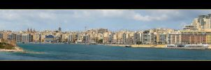 View From Valetta - Sliema by skarzynscy