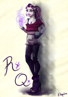 Raven Queen - Casual Clothes by Elequinoa