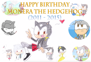 Happy Birthday Monera!!! 2015 by Jack-Hedgehog