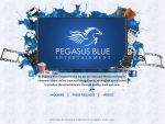 Landing Page for Pegasus Blue Website by MadreMedia