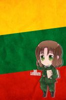 Hetalia iWallpapers - Lithuania by Dreamweaver38