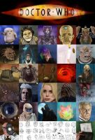 Doctor Who New Series Alphabet by jinkies36