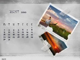 August wallpapers-Calendars by Ithildiel