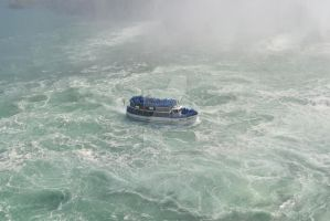 The Maid Of The Mist by FrenchSkinhead