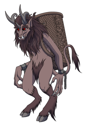 Krampus by WeirdoFish