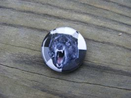 Insanity Wolf - Meme- Button by CapsuleCorpButtons