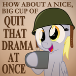 No Drama Here by ZuTheSkunk