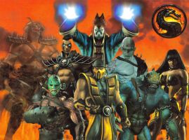 Mortal Kombat Netherrealm by The37thChamber
