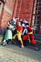 Avatar: The Last Airbender - Team Assembled! by YumiKoyuki