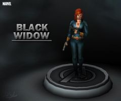 Marvel - Black Widow by davislim