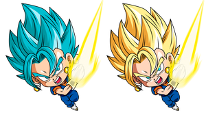 Vegetto Ssj by Monstkem