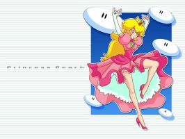 peach wallpaper by Shayeragal