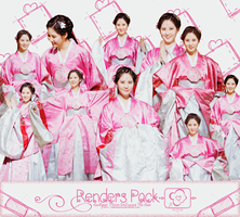 [Renders Pack] SeoHyun - Moon Embraces The Sun by ShiroDauTay