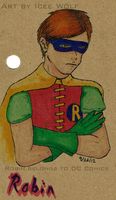 Holy Notebooks! It's Robin! by ICEEWolf