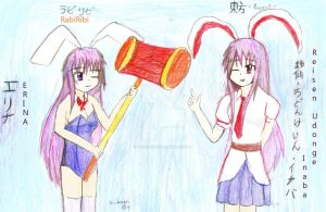 Reisen and Erina look alike O.O by Viiiderexxc