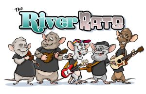 River Rats caricatures by andrewchandler80