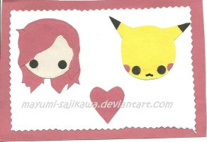 I Heart Pikachu by Amy-the-Artisan
